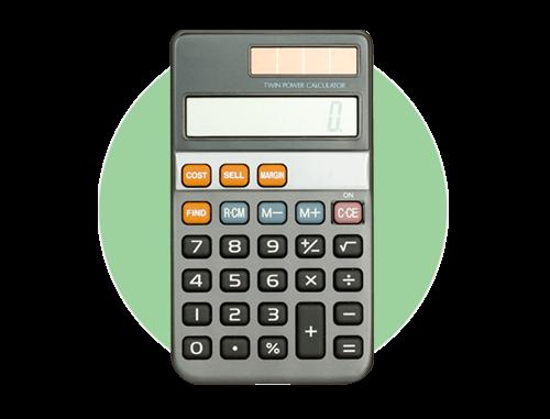 Калькулятор затрат