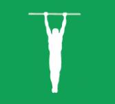 Мужчины: подтягивание; Женщины: тяга сверху с 50% от веса